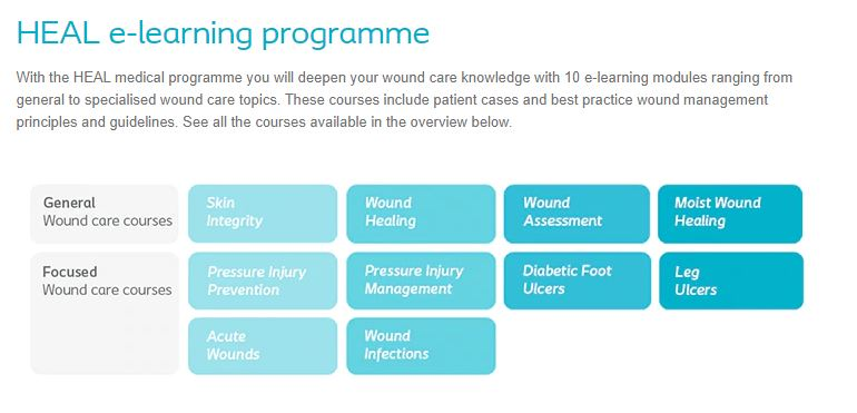 HEAL Wound Care Courses